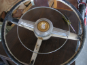 1950 Plymouth Special Deluxe Steering Wheel
