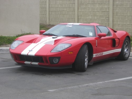 Red Ford GT, Salinas, CA